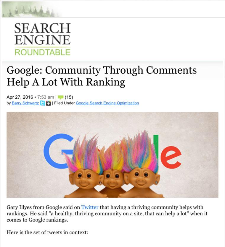 谷歌社区评论